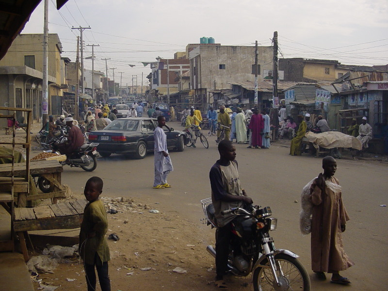 Street outside Kurmi market
