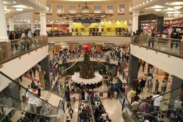 The Deira City Center mall is one of Dubai's oldest, but still one of the largest.