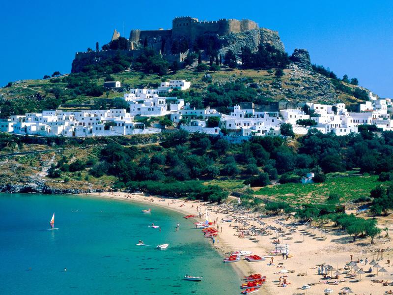 Greece-Lindos Rhodes