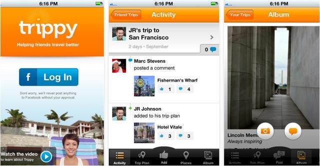 Trippy-travel-app