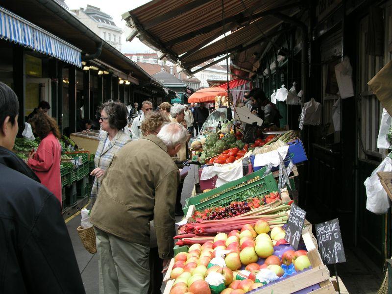 Görsel: Naschmarkt Viyana