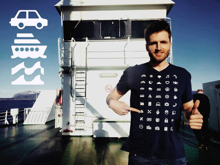 Iconspeak-travel-t-shirt