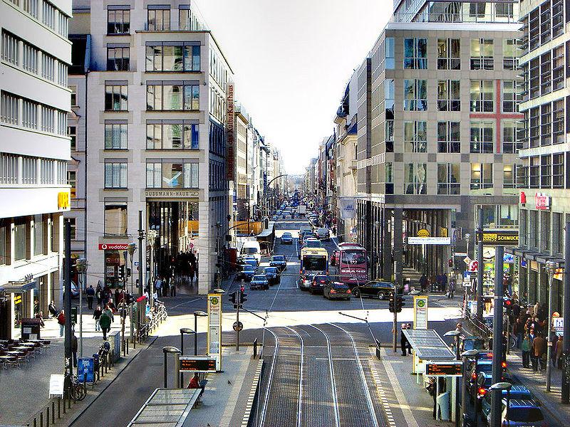 Berlin-Mitte-Freidrichstrasse