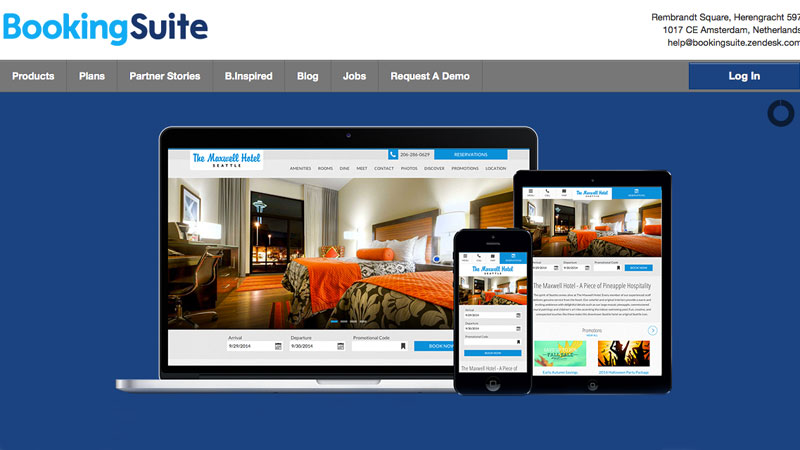 BookingSuite-website