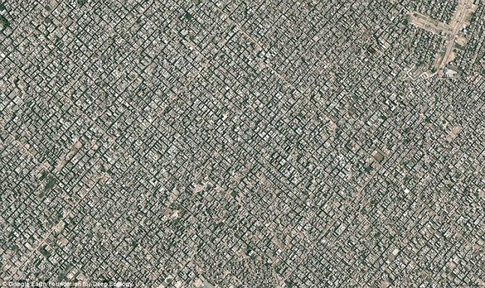 Görsel: @Google Earth/2014