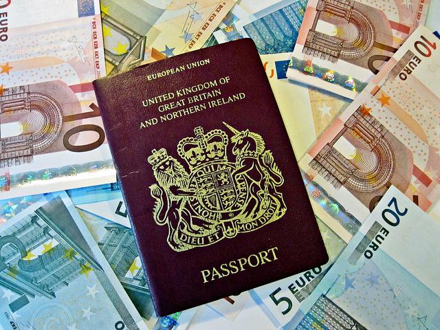 British-passport-and-euros