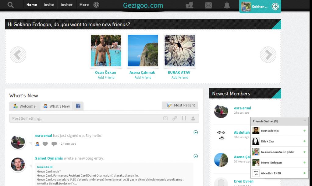 Gezigoo.com   Member Home Page