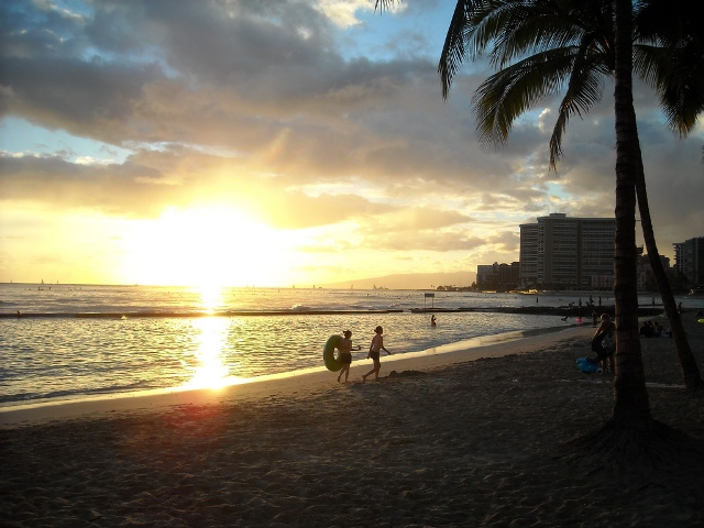 Hawaii-Waikiki-beach