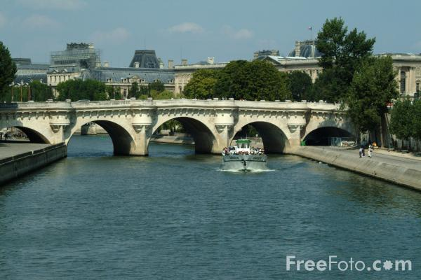 Bridge, River Seine, Paris, France