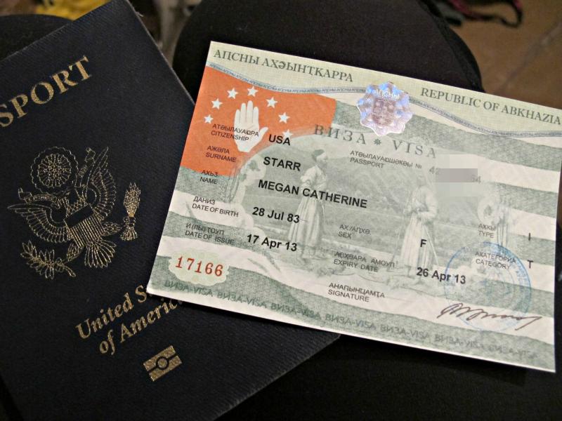 Visa-Abkhazia