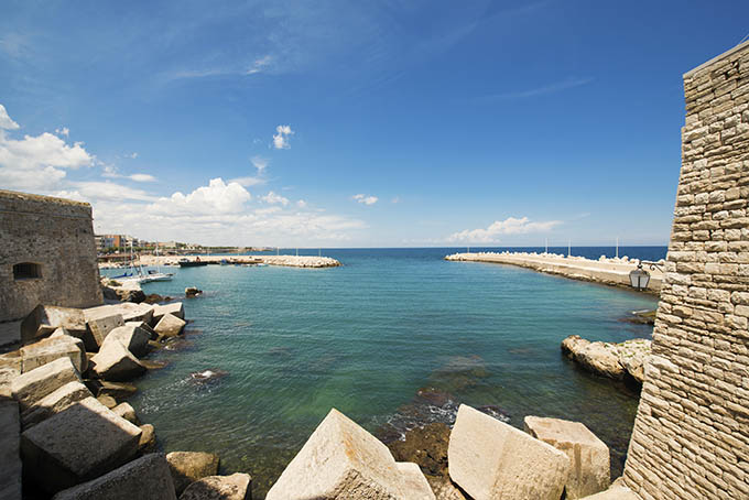 Giovinazzo, Southern Italy, Bari - The little port.