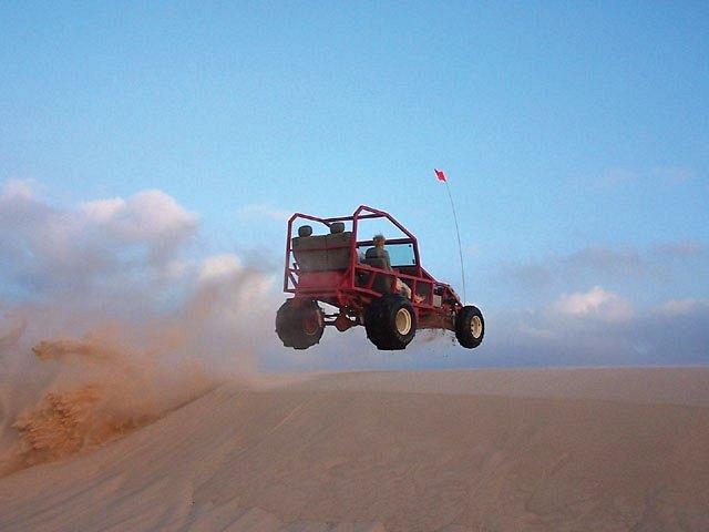 dune-buggying