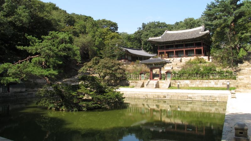 Secret Garden, Changdeokgung Palace, Seoul, South Korea