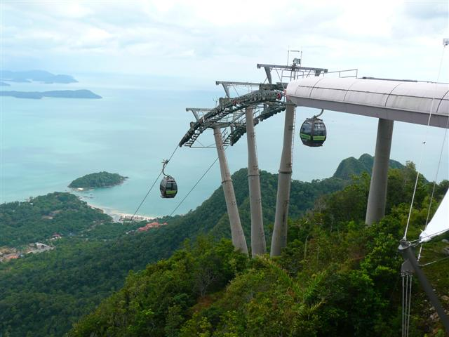 malays langkawi cable car