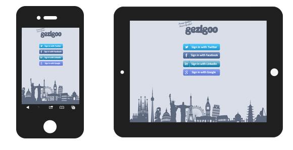 mobile for gezigoo